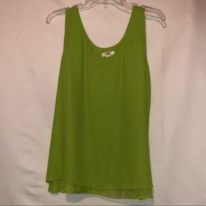 Flowy Bright Green Top CL